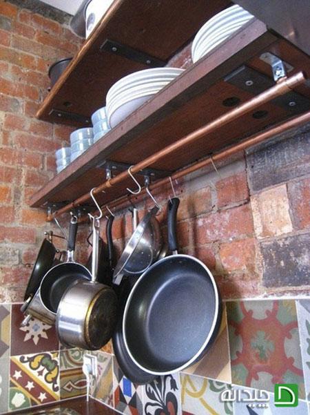 با کمبود جای قابلمه و ماهی تابه در آشپزخانه چه کنیم؟