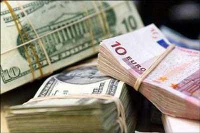دلار آمریكا ,قیمت یورو,قیمت ارز, نرخ انواع ارز دولتی
