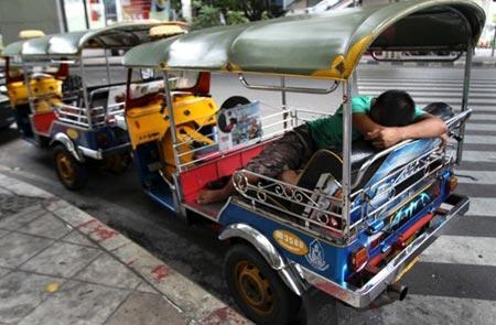 ماشین های مسافربری در بانکوک