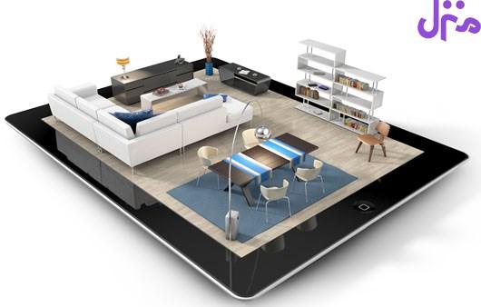 شش اپلیكیشن برای دكوراسیون و معماری داخلی منزل و محل كار