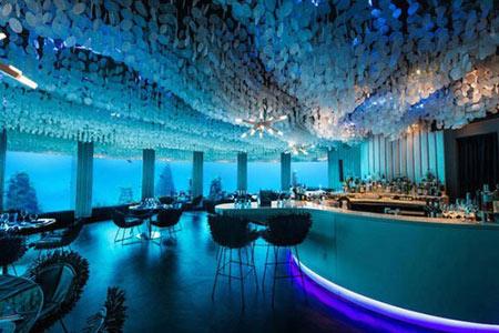 رستوران زیرآبی,رستوران Subsix در مالدیو,رستورانی در اقیانوس