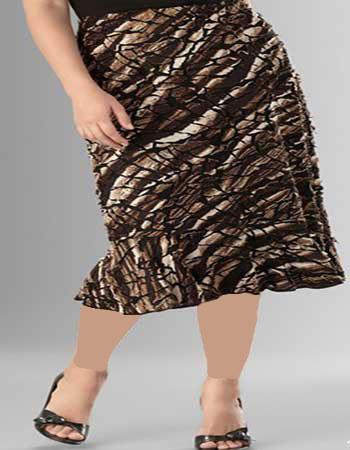 مدل دامن بلند