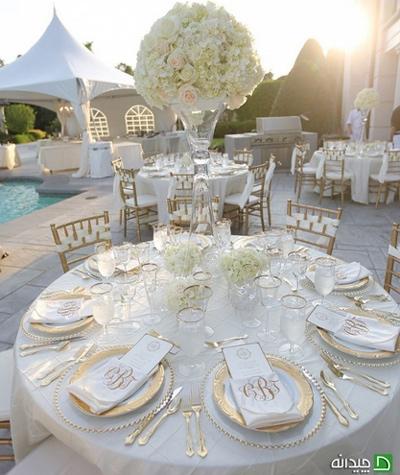 جشن عروسی تمام عیار با تزیینات شیک و ارزان!