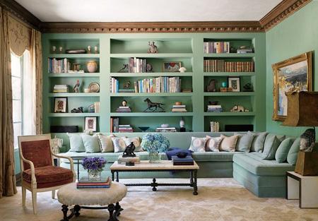 رنگ آمیزی منزل,ایده های رنگ آمیزی دیوارها