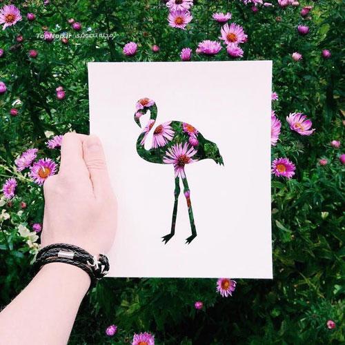 رنگ آمیزی آثار هنری با طبیعت