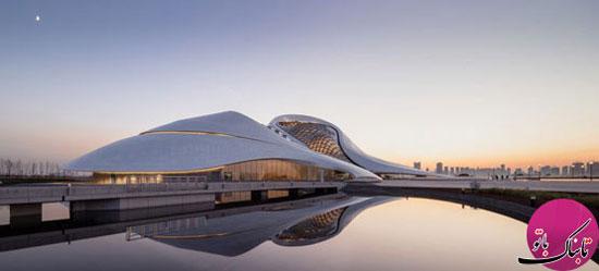 آشنایی با معماری شگفتانگیز خانه اپرای هاربین
