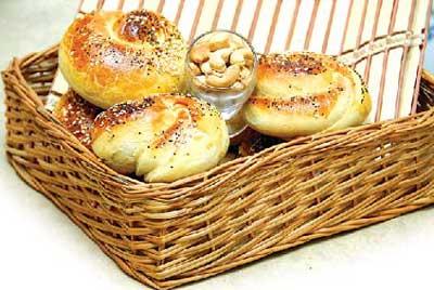 آشپزی,نان بادام زمینی