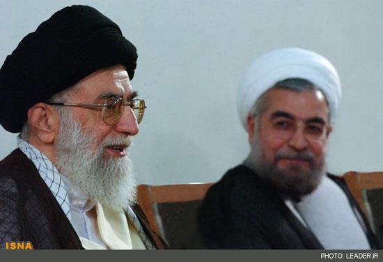 دیدار روحانی با رهبر معظم انقلاب اسلامی