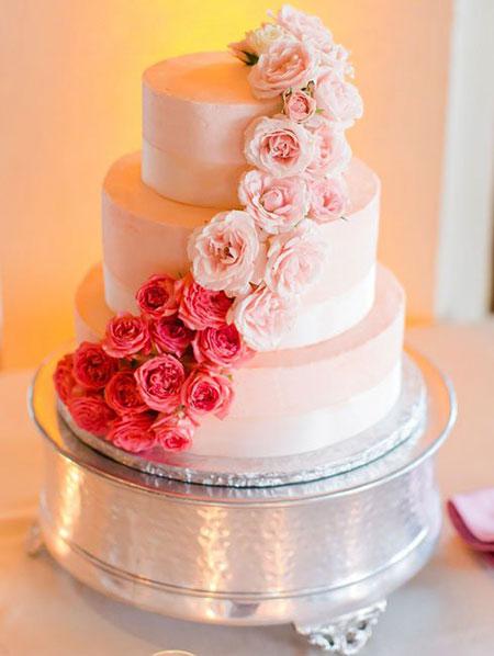 مدل کیک های عروسی,کیک عروس و داماد