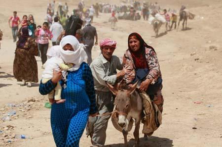 ورود آوارگان سوریه به کردستان عراق