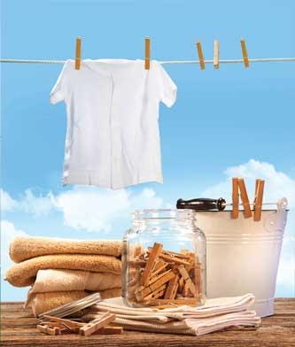 نکاتی برای شستن لباس ,شستن لباس سفید