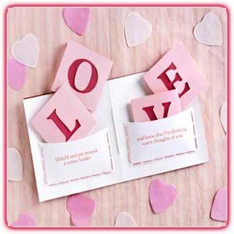 کاردستی های زیبا برای روز ولنتاین