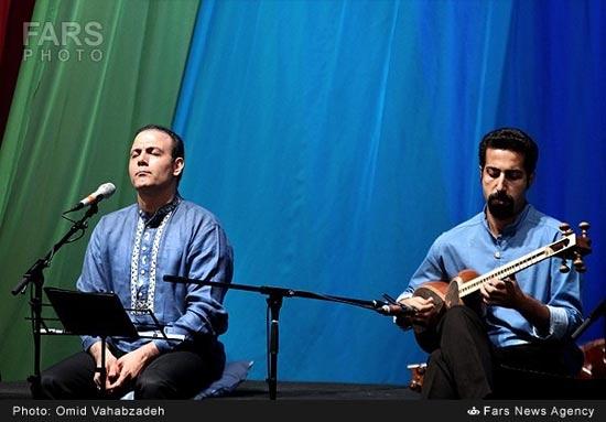 کنسرت موسیقی علیرضا قربانی