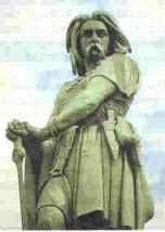 مجسمه يك سرباز فرانك
