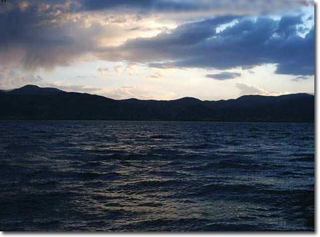 دریاچه زریوار در شهر مریوان