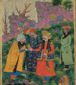 سلطان محمود و لرز سرما