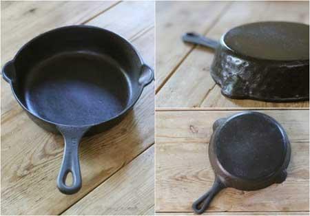 ظروف چدنی سوخته,مراحل ترمیم ظروف چدنی