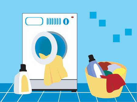 نحوه تمیزکردن لباسشویی, نکاتی برای تمیز کردن ماشین لباسشویی