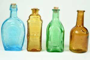 هنر نمایی با بطری,تزیین بطری شیشه ای