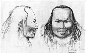 خلق تصویر مردی متعلق به چهار هزار سال پیش با ژنوم منجمد شده