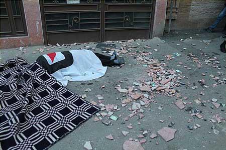 اخبار ,اخبار حوادث ,مرگ درپی سقوط سنگ نمای ساختمان
