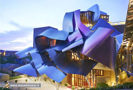 اخبار,اخبار گوناگون,تصاویر عجیب ترین هتل ها,هتل مارکوس دو ریسکال