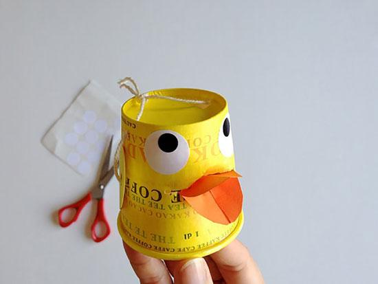 کاردستی برای بچه ها جاشکلاتی های اردکی