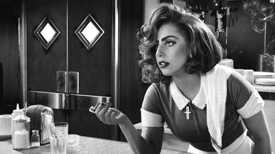 عکس: لیدی گاگا در نمایی از فیلم «شهرگناه2»