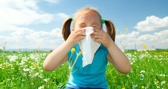 بیماریهای شایع کودکان در بهار