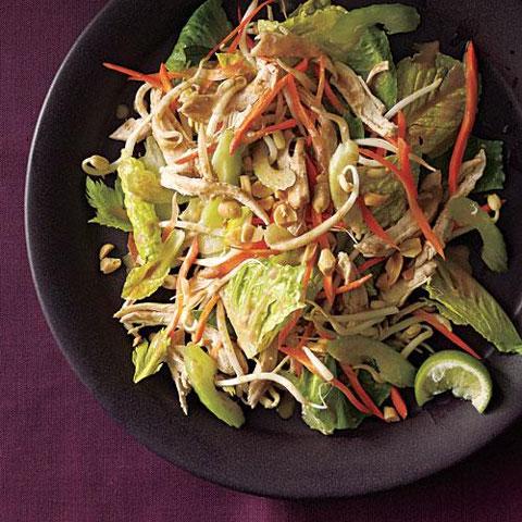 طرز تهیه سالاد مرغ تایلندی Thai chiken salad