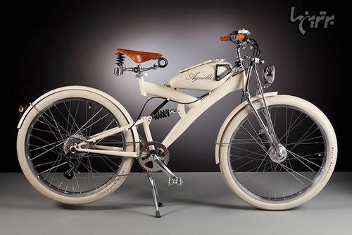 دوچرخه های برقی نفیس ساخته شده با قطعات قدیمی