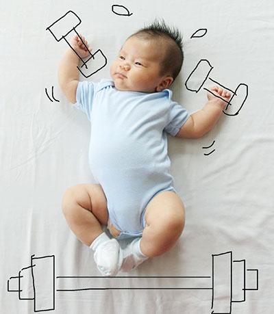 این کوچولو چندتا   لایک داره؟