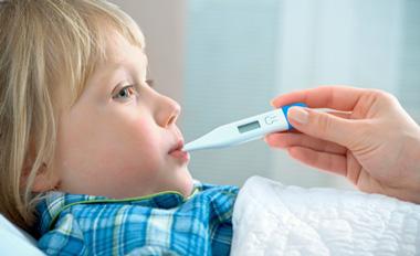پیشگیری از آنفلوآنزای کودک,علایم اصلی آنفلوآنزا