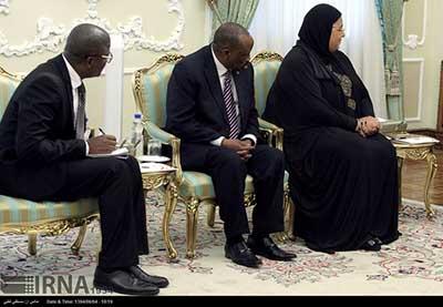 اخبار,اخبارسیاست  خارجی, دیدار وزیر خارجه غنا با رییس جمهور