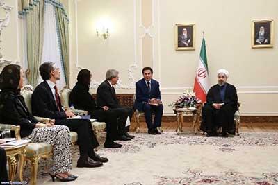 اخبار,اخبار سیاست  خارجی ,دیدار وزیر امور خارجه ایتالیا با رییس جمهور