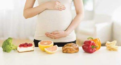 غذای زن باردار در عید نوروز, تغذیه زن باردار  در عید نوروز