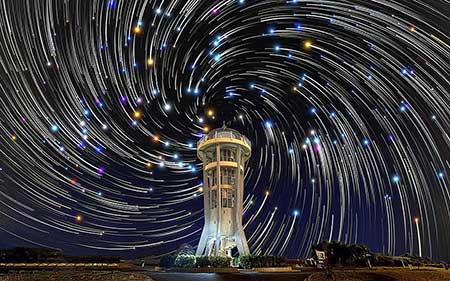 عکسهای جالب,تصاویر جالب,آسمان پرستاره