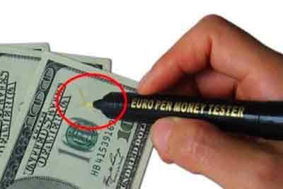 پول های تقلبی , شناخت اسکناس های جعلی