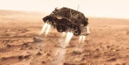 مریخ نورد کیوریاسیتی,جهانگردی پرماجرای روبات زمینی