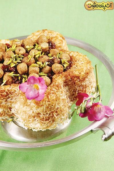 24 نوع غذا و شیرینی با تِمشکوفه های بهاری (5)
