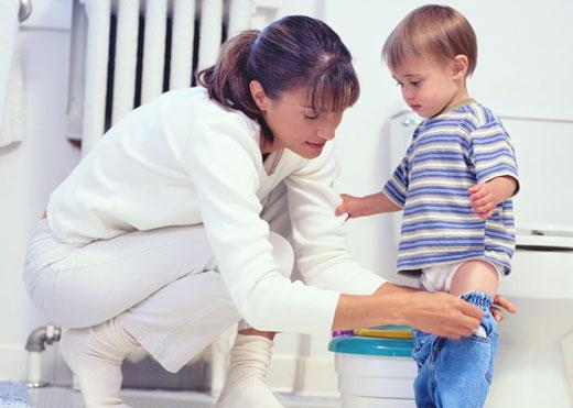 از پوشک گرفتن بچه، چگونه و چه موقع؟