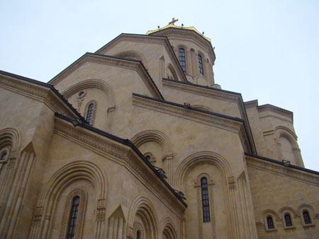 کلیسای جامع تثلیث, کلیسای جامع تثلیث در شهر تفلیس, کلیسای جامع تثلیث بزرگترین کلیسای ارتدکس