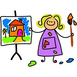تمرین نقاشی کودکان برای تقویت قوه تخیل