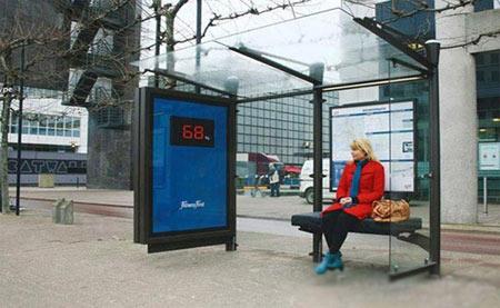 اخبار,اخبار گوناگون,عجیب ترین ایستگاههای اتوبوس