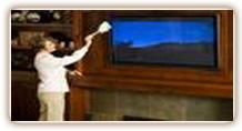 تمیز کردن تلویزیون LCD
