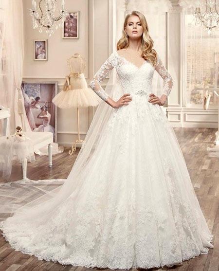 مدل لباس عروس,جدیدترین مدل لباس عروس,مدل لباس عروس جدید
