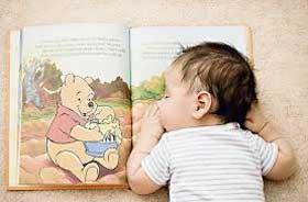 اخبار ,اخبار علمی ,کتاب خواندن برای نوزادان