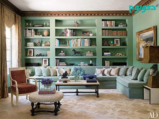 دکوراسیون منزل و 6 ایده رنگ آمیزی دیوار ها