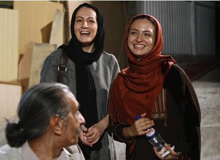 گلاره عباسی بازیگر سریال نون و ریحون