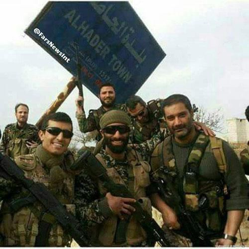 عکس: نیروهای ویژه ارتش ایران در سوریه